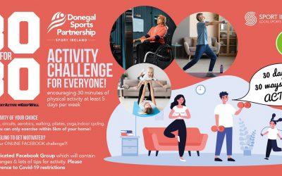 30 For30 Activity Challenge Poster crop